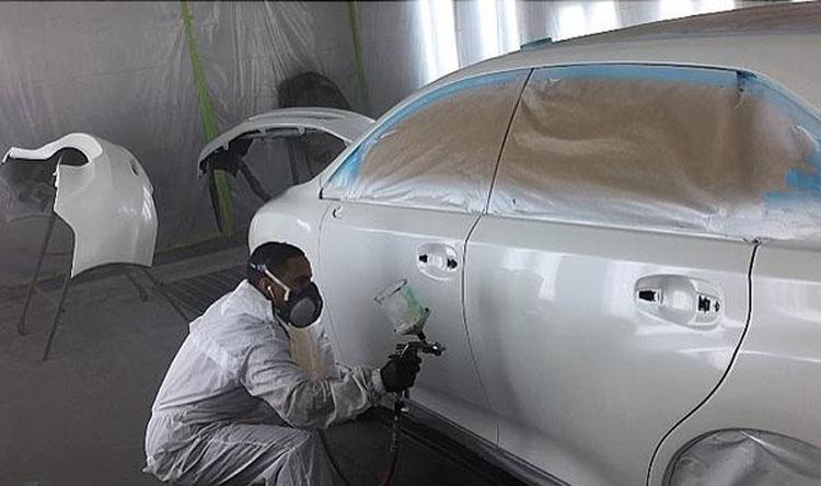 涂装生产线污染物处理