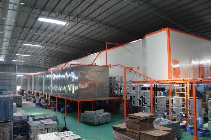 产品表面处理线设备喷涂生产线